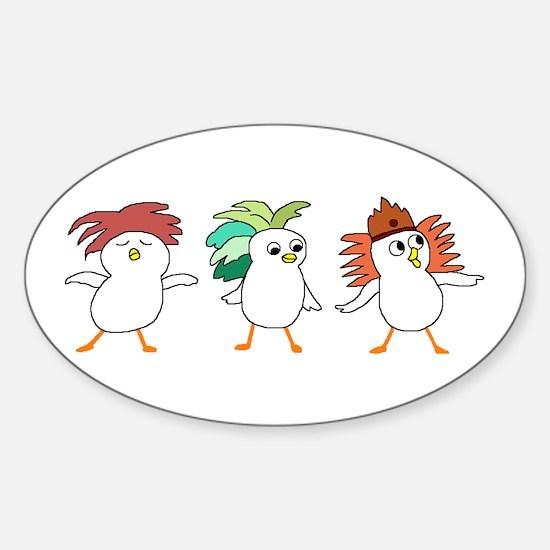 Carnival Sticker (Oval)