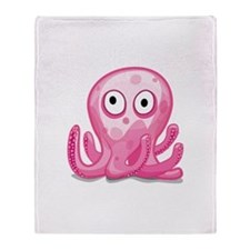 octo Throw Blanket