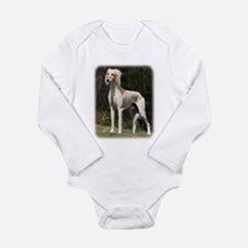 Saluki 9Y644D-026 Long Sleeve Infant Bodysuit