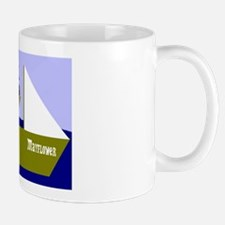 Pilgrim on Mayflower Mug