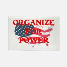 Organize for POWER Rectangle Magnet