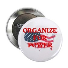 """Organize for POWER 2.25"""" Button (100 pack)"""
