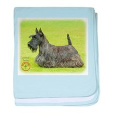 Scottish Terrier 9A036D-07 baby blanket