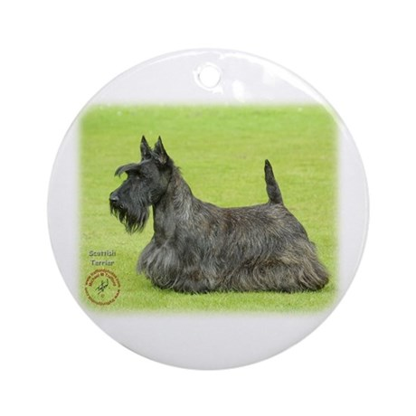 Scottish Terrier 9A036D-07 Ornament (Round)