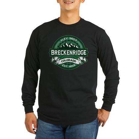 Breckenridge Forest Long Sleeve Dark T-Shirt