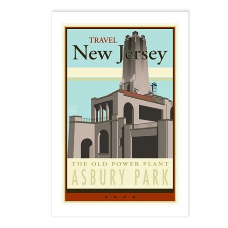 Travel New Jersey Postcards (Package of 8)
