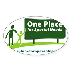 One Place for Special Needs l Decal