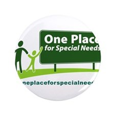 "One Place for Special Needs l 3.5"" Button (100 pac"