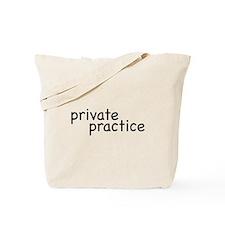 private practice Tote Bag