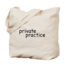 private practice Tote Bag