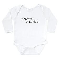 private practice Long Sleeve Infant Bodysuit