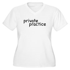 private practice Women's Plus Size V-Neck T-Shirt