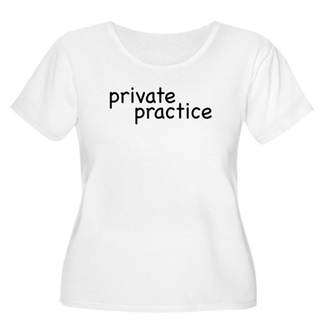 private practice Women's Plus Size Scoop Neck T-Sh