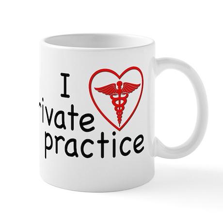 I Love Private Practice Mug