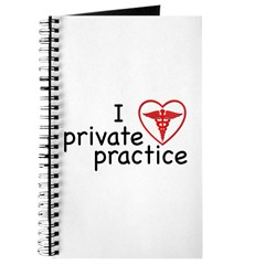 I Love Private Practice Journal