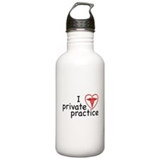 I Love Private Practice Stainless Water Bottle 1.0