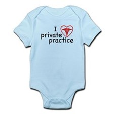 I Love Private Practice Onesie