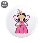 "Adorable Fairytale Princess 3.5"" Button (10 P"