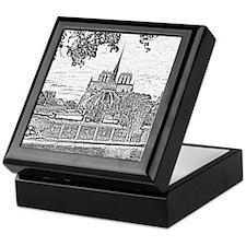 Notre Dame Keepsake Box