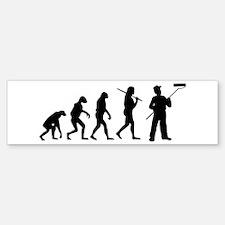 The Evolution Of The Painter Bumper Bumper Sticker