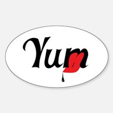 Funny Mouth watering Decal
