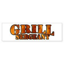 Grill Sergeant Bumper Sticker