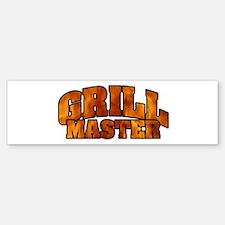 Grill Master Bumper Bumper Sticker
