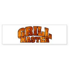 Grill Master Bumper Sticker