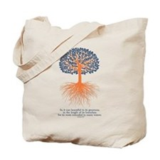 Ezekiel 31:7 design Tote Bag