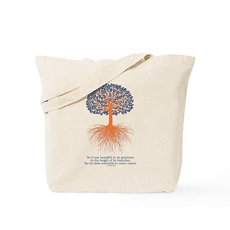 Ezekiel 31:7 design Tote Bag