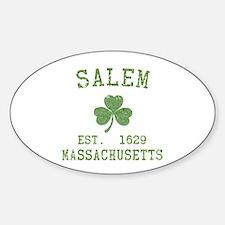 Salem Irish Sticker (Oval)