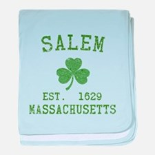 Salem Irish baby blanket