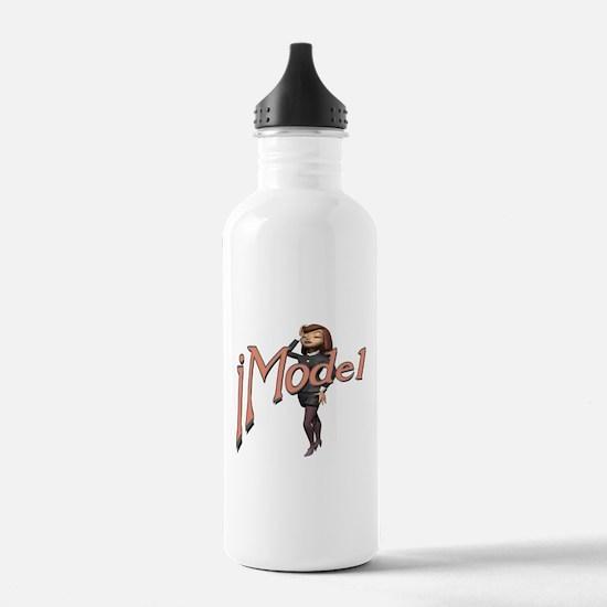 Fashion Model Water Bottle