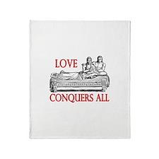 Cute Latin Throw Blanket