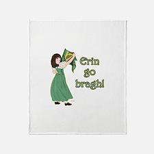 Erin Go Bragh Throw Blanket