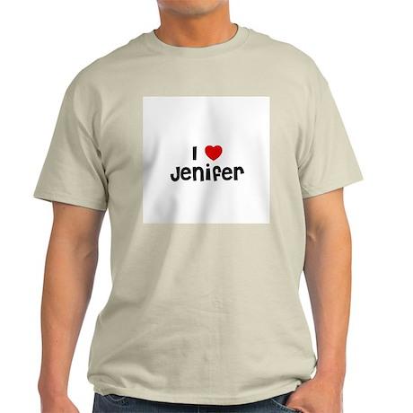 I * Jenifer Ash Grey T-Shirt