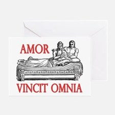 Amor Vincit Omnia Greeting Card