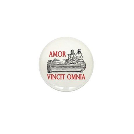 amor vincit omnia mini button by olivewoodphoto. Black Bedroom Furniture Sets. Home Design Ideas