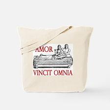 Amor Vincit Omnia Tote Bag