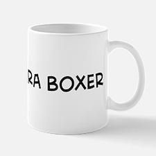 I Love Barbara Boxer Mug