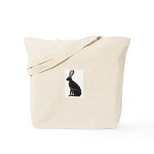 Black & Tan Belgian Hare Tote Bag