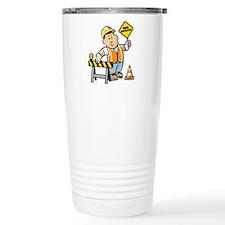 Cute Construction worker Travel Mug