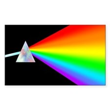 Rainbow Prism Decal