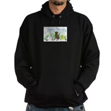 chocolate lab Hoody