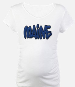Maine in Graffiti Style Letters Shirt