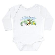 boxer Long Sleeve Infant Bodysuit