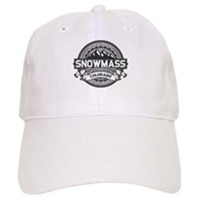 Snowmass Grey Baseball Cap