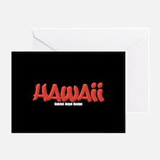 Hawaii Graffiti Greeting Cards (Pk of 20)