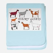 ALL Dairy Does baby blanket
