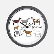 ALL Dairy Does Wall Clock